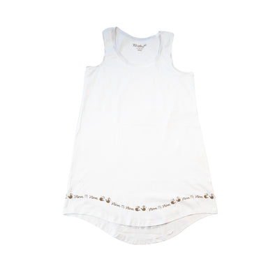Mom -  Sleeveless Sleepshirt - 100% Cotton