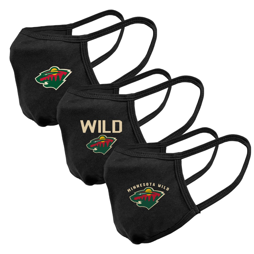 Minnesota Wild Assorted Graphics Guard 2 3-Pack