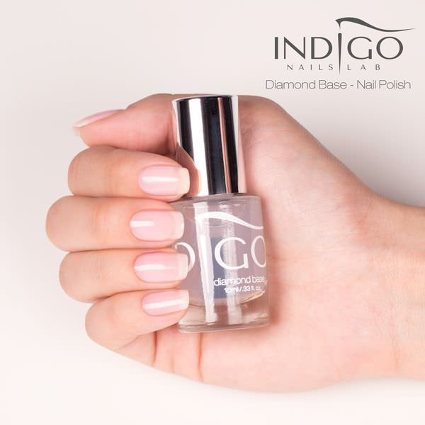 Diamond Base til neglelak 10ml-Neglelak Top & Base-Indigo-NR Kosmetik