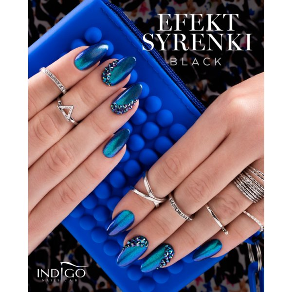 Mermaid Effect Black 2.5g-Nail Art-Indigo-NR Kosmetik