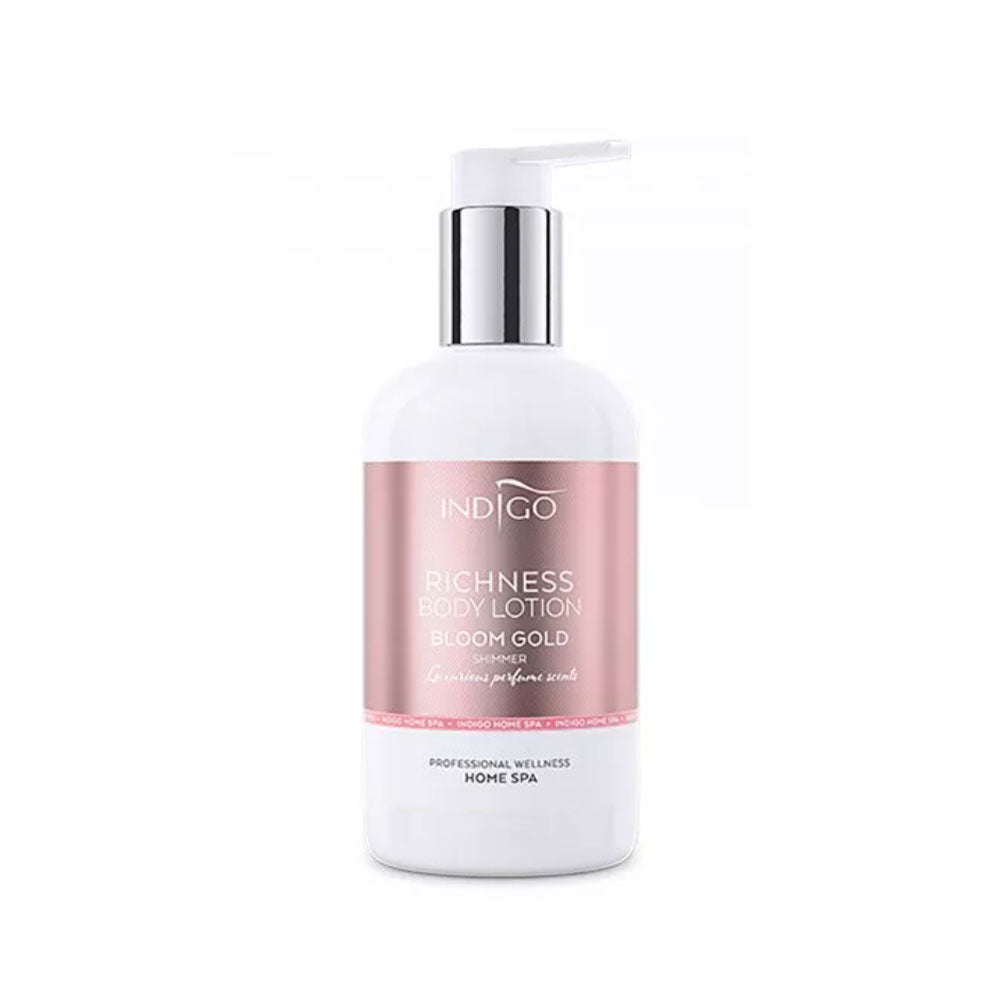 Body Lotion 300ml - Bloom Gold Shimmer-Body Lotion-Indigo-NR Kosmetik