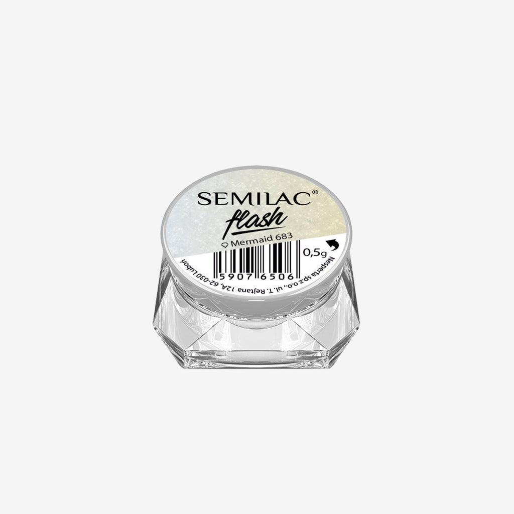 SemiFlash Mermaid 683 - 0,5 gram-Nail Art-Semilac-NR Kosmetik