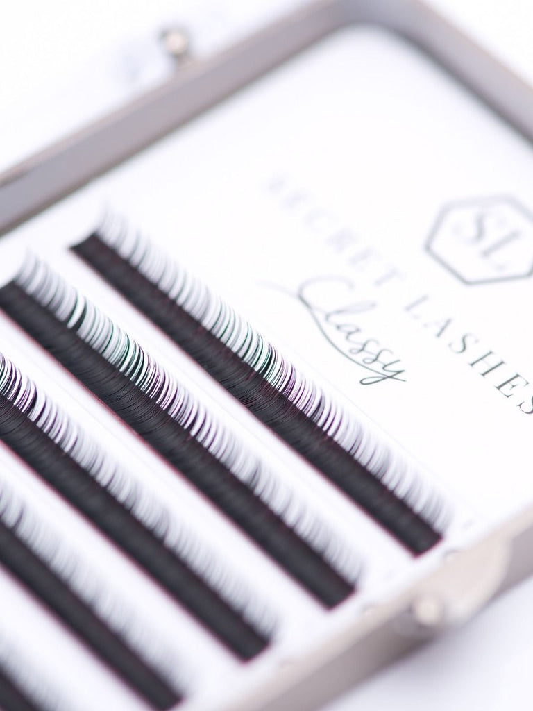 Volume Classy - 6 stripes (6mm & 7 mm)-Secret Lashes-B-0.05-6 mm-NR Kosmetik
