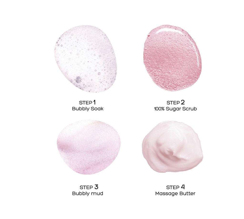 Bubbly Spa 4 Steps Pedi - Raspberry Sorbet