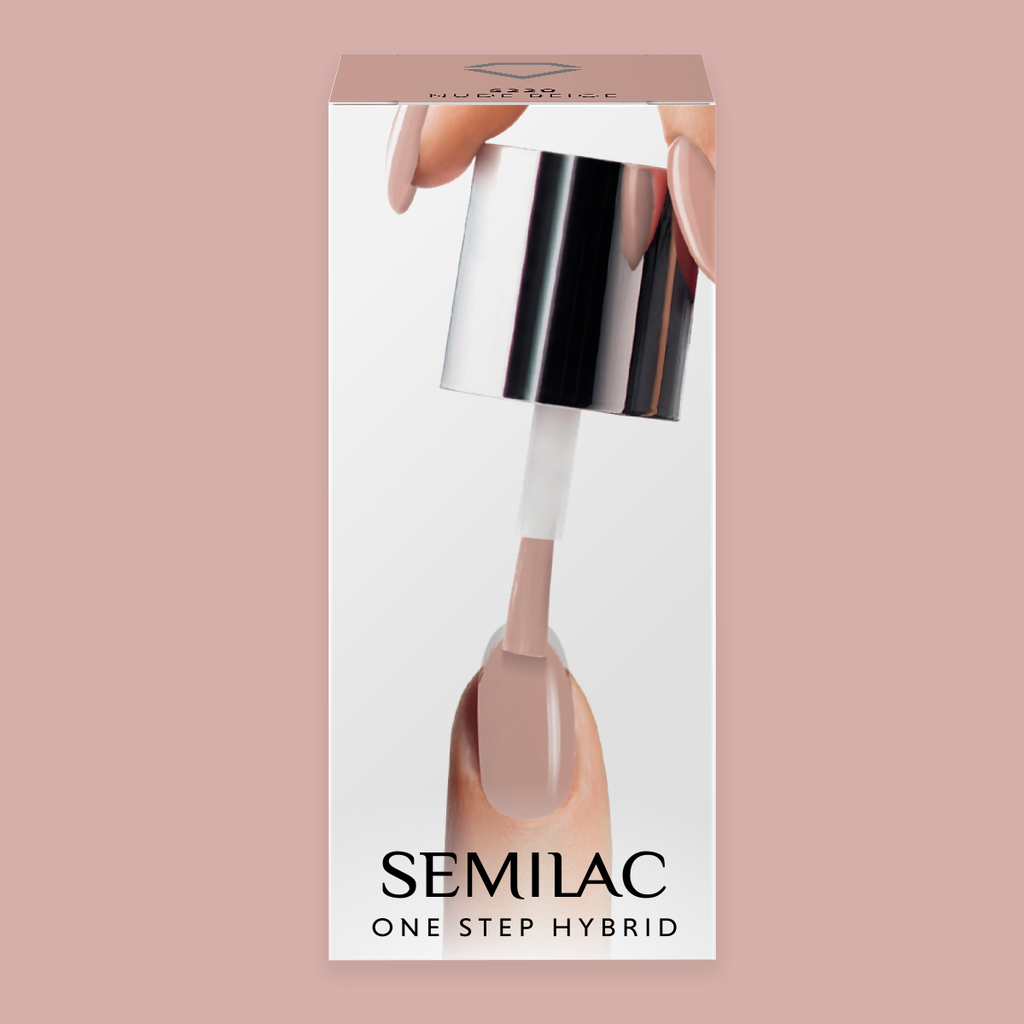 One Step Gelpolish - Nude Beige 220 - 5 ml-3i1-Semilac-NR Kosmetik