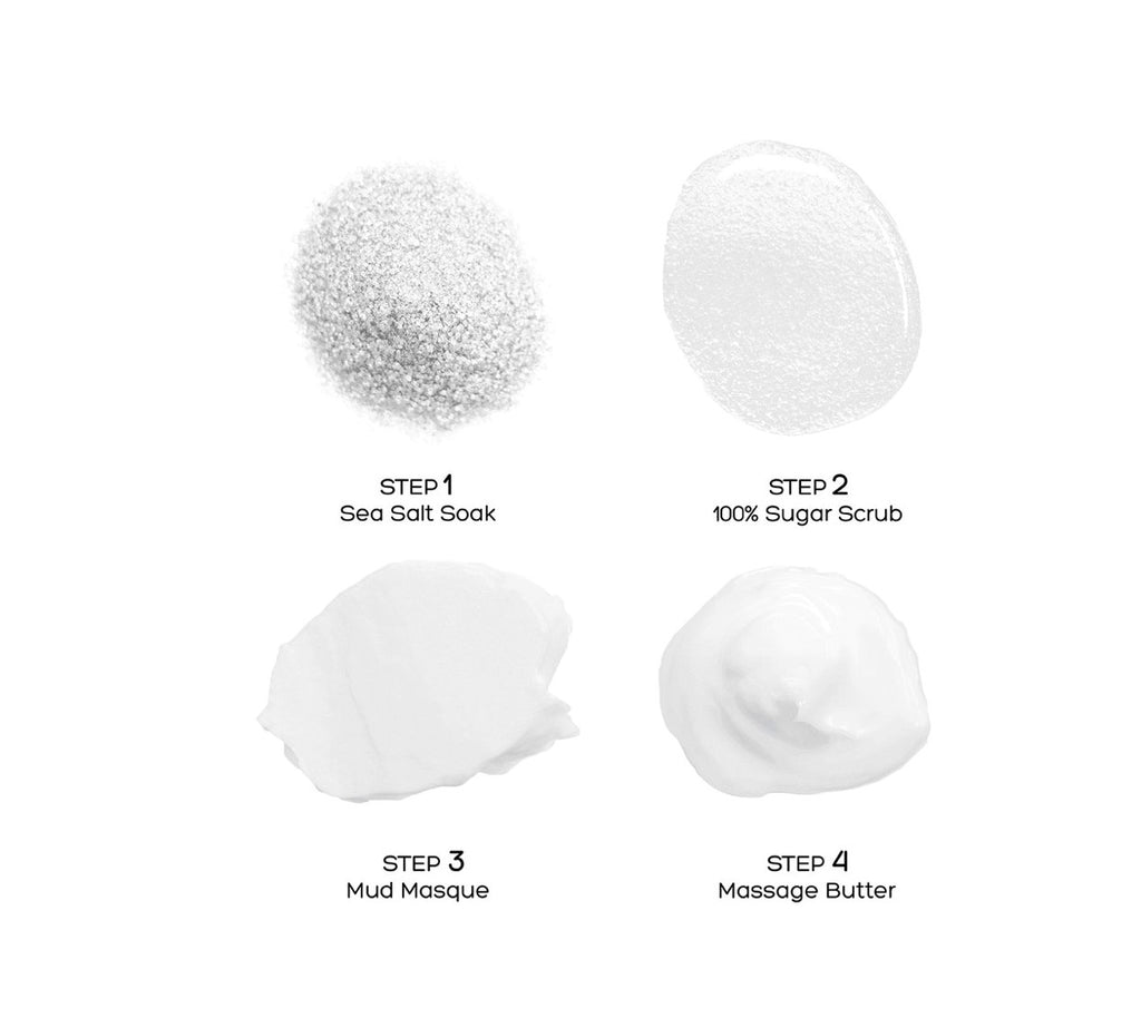 Deluxe 4 Steps Pedi - Unscented / Neutral-SPA-VOESH-NR Kosmetik