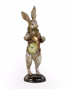 Rabbit clock figure