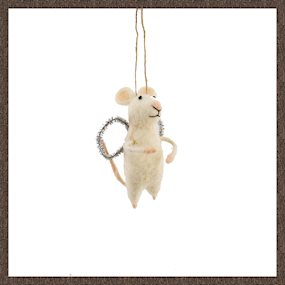 White angel mouse dec