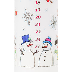 Advent Pillar Candle