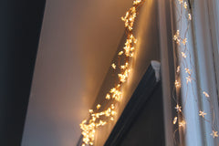 Copper Star Fairy Lights