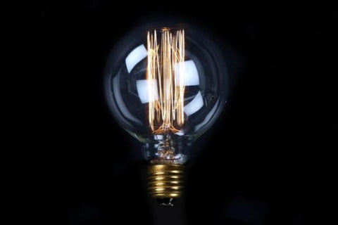 Large Filament Light Bulb
