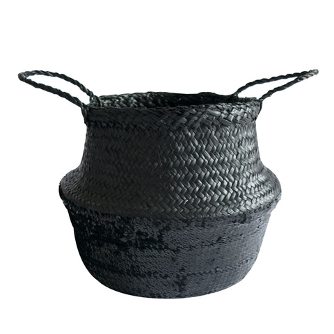 Medium Sequin Basket