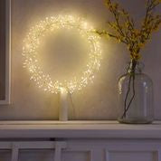 Starburst wreath large