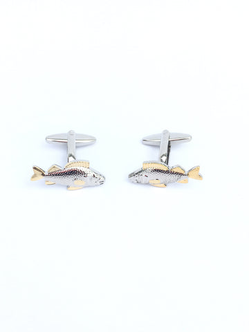 Cuff links, Fish