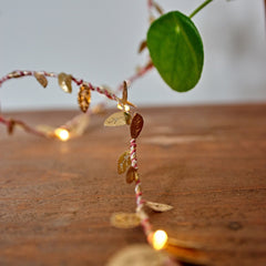 Leaf fairy lights