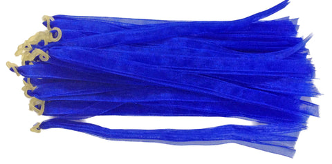 Fascinators - Blue - 24 Pieces