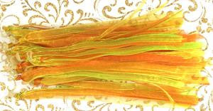 Fascinators - Citrus - Orange, Lime and Yellow