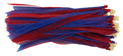 Fascinators - Red and Blue