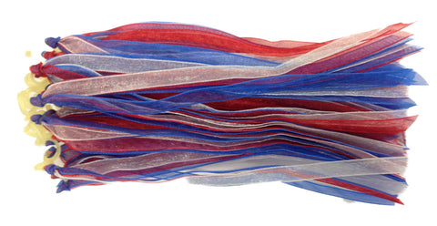 Fascinators - Red, White and Blue