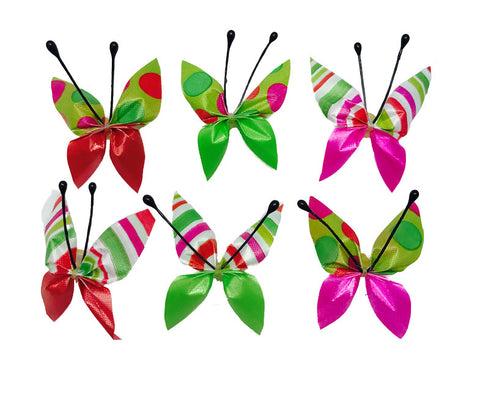 Butterfly Circus Collection - Green - 36 Bows