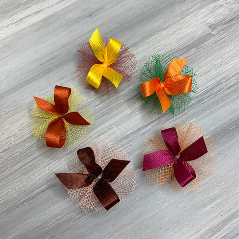 Petite Fall Collection - 50 Tiny Bows