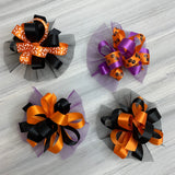 Halloween Collar Bows - 8 Bows - Huge!