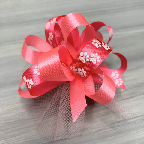 Pink Collection of Collar Bows - 8 Bows