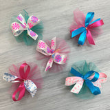 Sweet Treats - Swirls - 50 Medium Bows