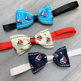 Let's Go Sailing - Adjustable Bow Tie - 8 Pieces