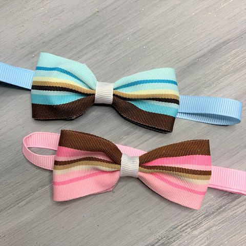Trendy Chocolate - Bow Tie Neck wear - 8 Medium Pieces