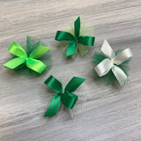 St Patrick Collection - Tiny Petite Bows - 50 Bows