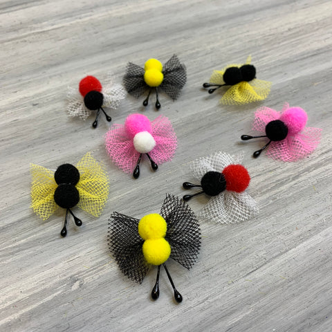 Tiny Doodle Bugs! - Our newest Collection - 24 Tiny Bows