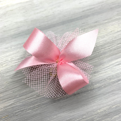 New - Basic Single Color - 5/8 Size Bows - Pick Your Own Color - 24 Bows
