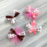 Cupcakes and Doughnuts - 50 Medium Bows