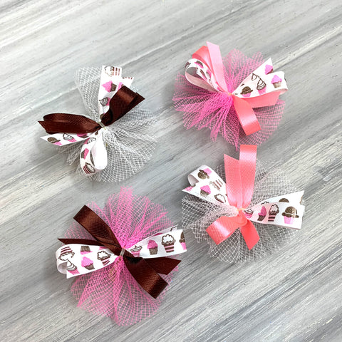 Cupcake Collection - 50 Medium Bows