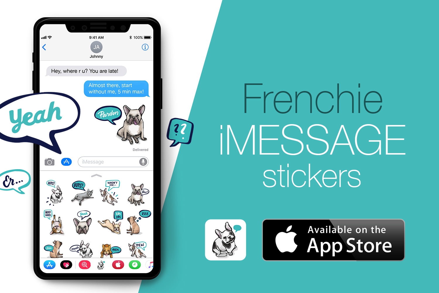 Frenchie for iMessage