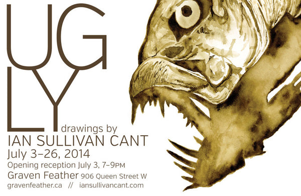 Ian Sullivan Cant Graven Feather Toronto Art Gallery Studio Workshops