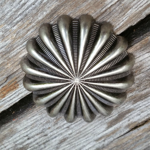 "2403WS-L15 1 "" Antique Nickel Parachute Decorative Wood Screw, Decorative Metal Pieces - Behind The Wire Shop"