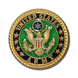 "5166-SN 1""  US Army Emblem Full Color Round Button Snaps"