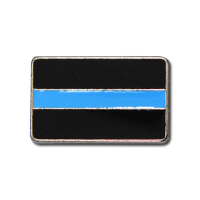 "5470-RC 1""  Police Thin Blue Line Flag Rivet concho, Conchos - Behind The Wire Shop"