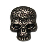 "5510-SN 3/4""  Antique Nickel Sugar Skulls Decorative Metal Snaps, Snaps - Behind The Wire Shop"