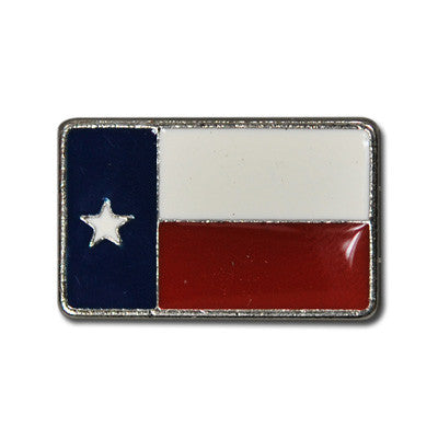 "5580-CC 1""  Color Texas Flag Decorative Metal Piece, Decorative Metal Pieces - Behind The Wire Shop"