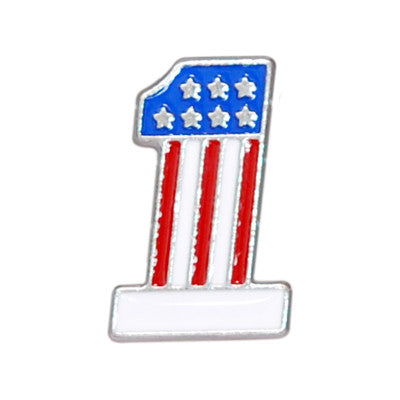 "5650-CC 5/8""  Color USA #1 Flag Decorative Metal Piece, Decorative Metal Pieces - Behind The Wire Shop"