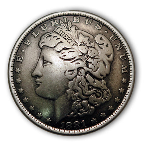 Morgan Dollar Coin Conchos, Wholesale - Behind The Wire Shop