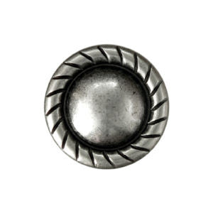 Plain Rope Edge Screw Back Conchos, Wholesale - Behind The Wire Shop