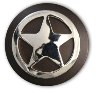 Texas Ranger Star Screw Back Concho, Wholesale - Behind The Wire Shop