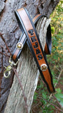"BUILD YOUR OWN - 3/4"" Texas Ranger Star Leash with Name 4 Ft & 6 Ft"