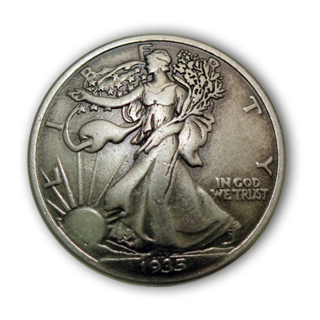 Walking Liberty Coin Conchos