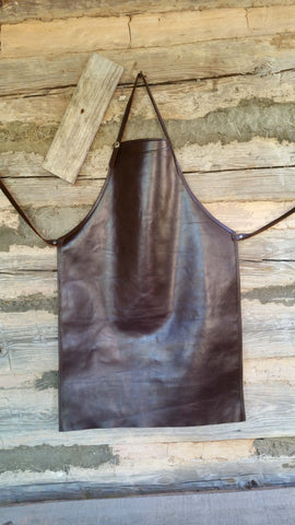 Custom Made Leather Aprons, Special Projects - Behind The Wire Shop