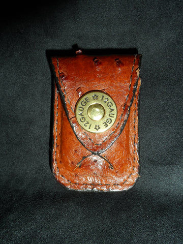 Custom Leather Lighter Case with Belt Clip